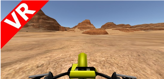 沙漠摩托车(VR Motorcycle Simulator )
