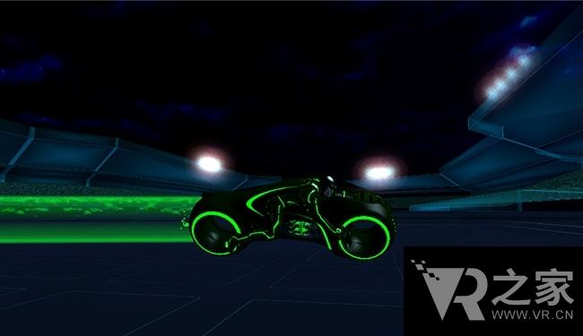 梦幻摩托车(Tron Light Cycles)